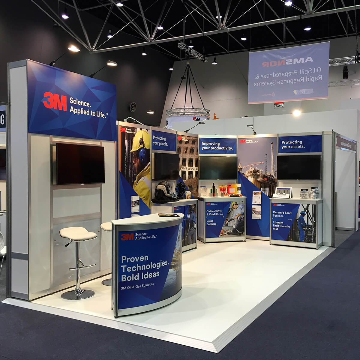 Exhibition Shell Graphics : Shell schemes trade show booths pop up displays for