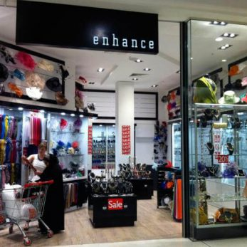Enhance Fashion Garden City Shopping Centre shopfitting