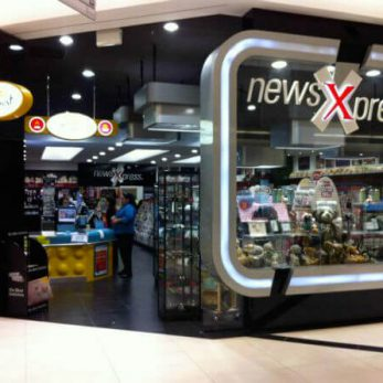 News Xpress raine square shopfitting